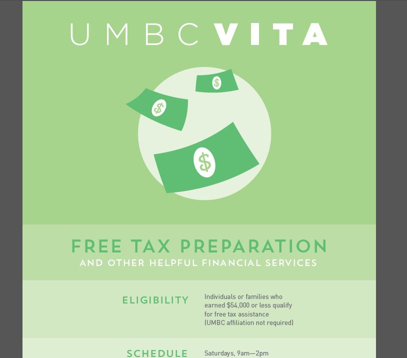 UMBC VITA - Volunteer Income Tax Assistance
