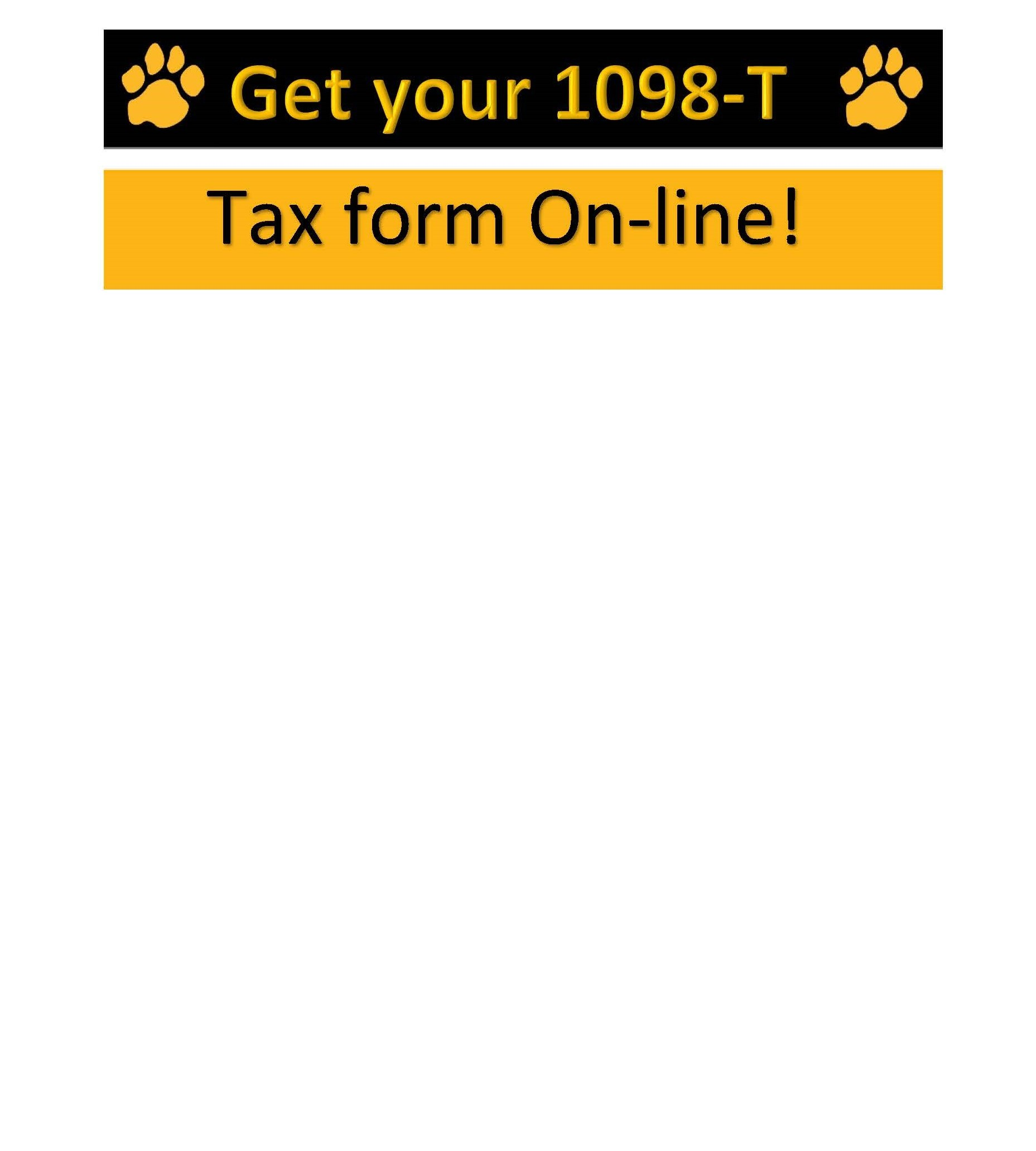 Get your 1098-T Tax form online!